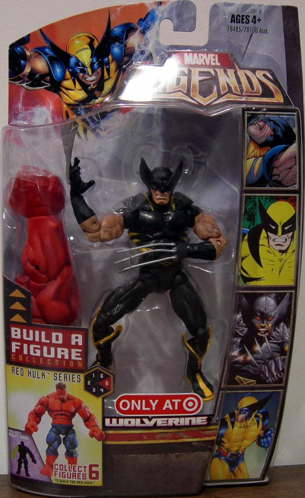 Wolverine Marvel Legends Red Hulk Series Variant action figure
