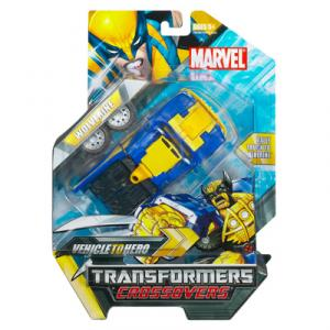 Wolverine Transformers Crossovers action figure