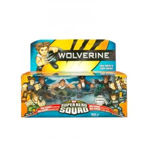 Wolverine 4-Pack Super Hero Squad action figures