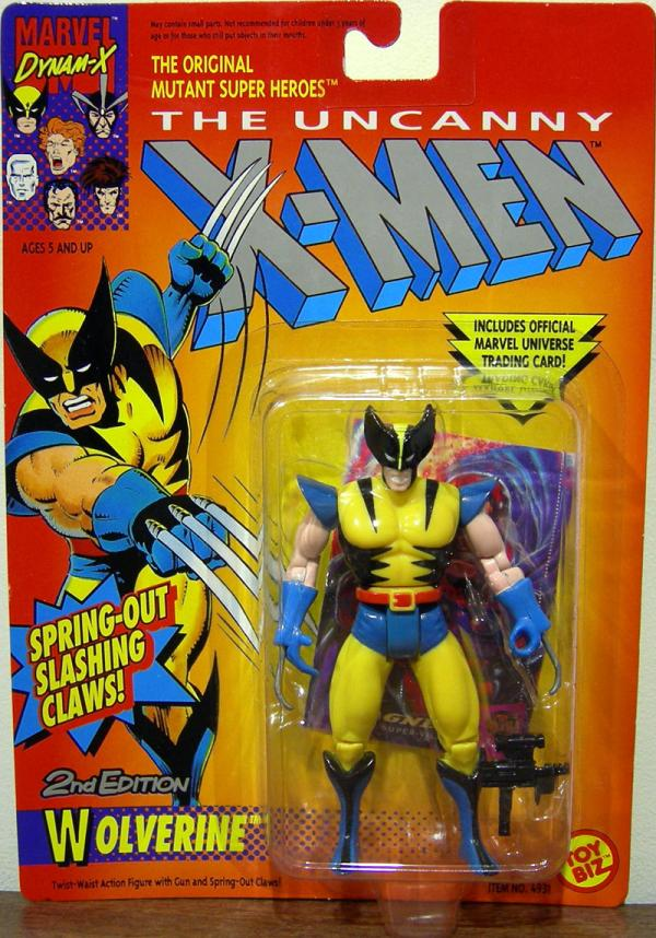 Wolverine 2nd Edition X-Men action figure