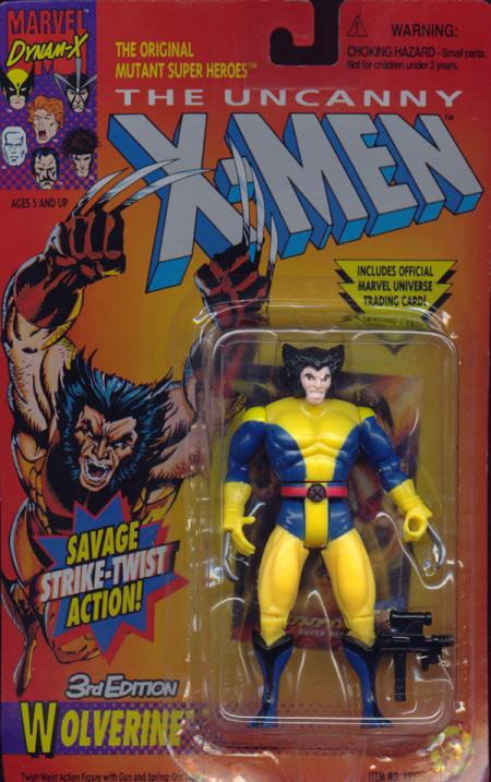 Wolverine 3rd Edition Yellow Legs X-Men action figure