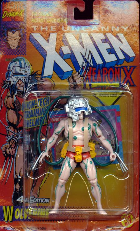 Wolverine 4th Edition Action Figure Weapon X Green Cables X-Men