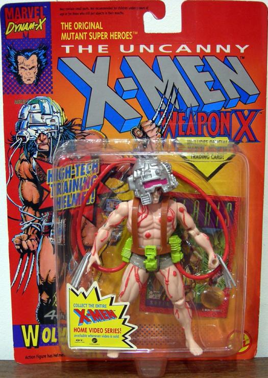 Wolverine 4th Edition Action Figure Weapon X Red Cables X-Men