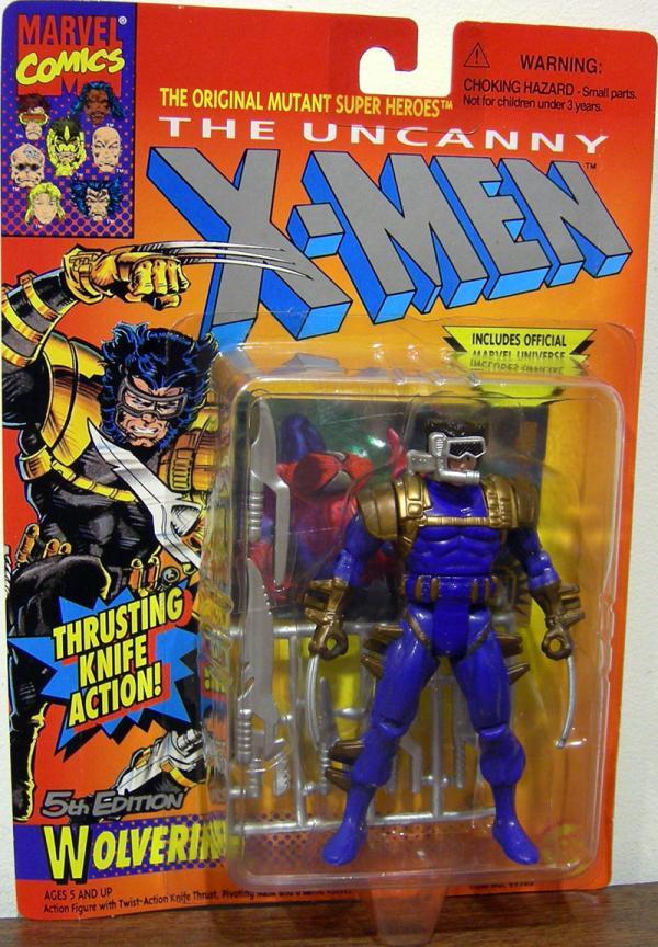 Wolverine 5th Edition Blue X-Men action figure