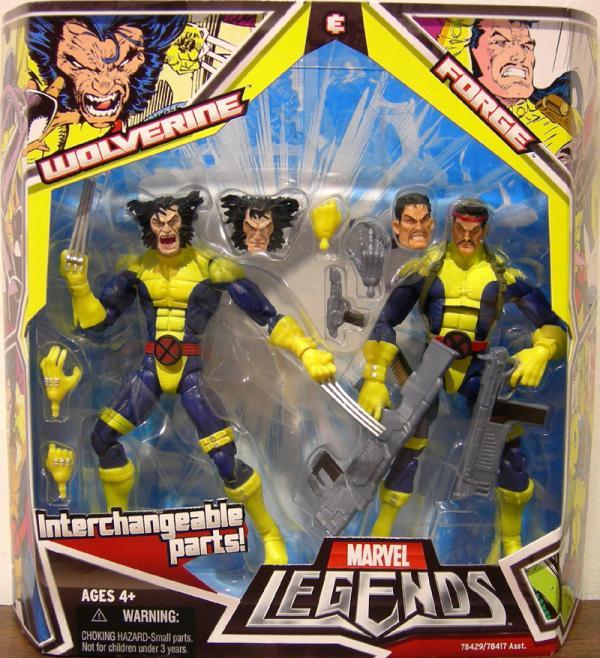 Wolverine Forge Marvel Legends action figures