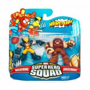 Wolverine Juggernaut Super Hero Squad action figures