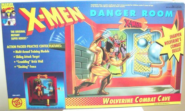 Wolverine Combat Cave Playset X-Men Danger Room