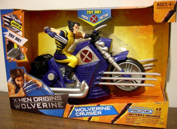 Wolverine Cruiser X-Men Origins action figure vehicle