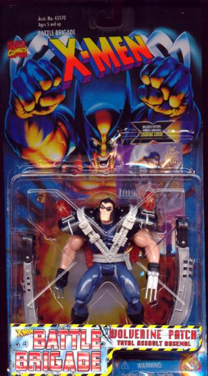 Wolverine Patch X-Men Battle Brigade action figure