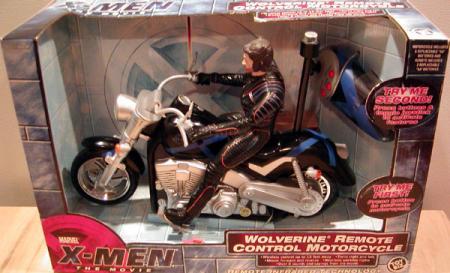 Wolverine Remote Control Motorcycle X-Men Movie vehicle