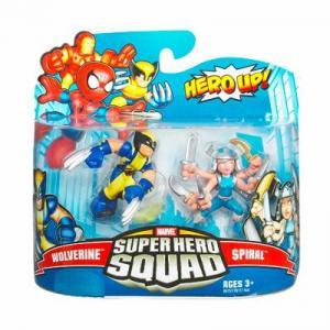 Wolverine Spiral Super Hero Squad action figures