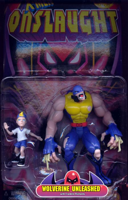 Wolverine Unleashed Figure X-Men Onslaught