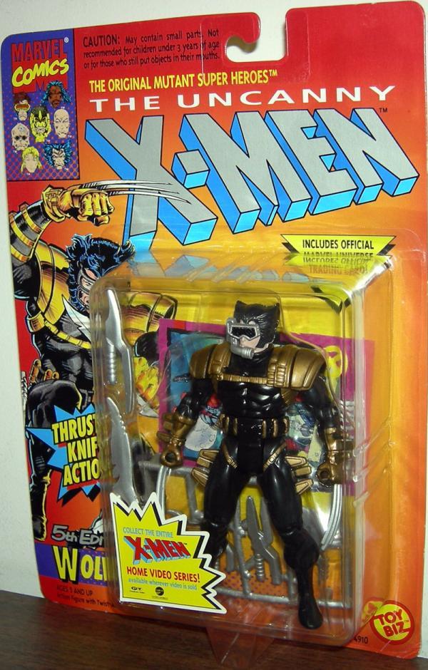 Wolverine 5th Edition Black X-Men action figure