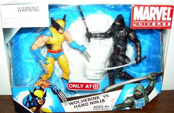 Wolverine vs Hand Ninja Figures Marvel Universe 004