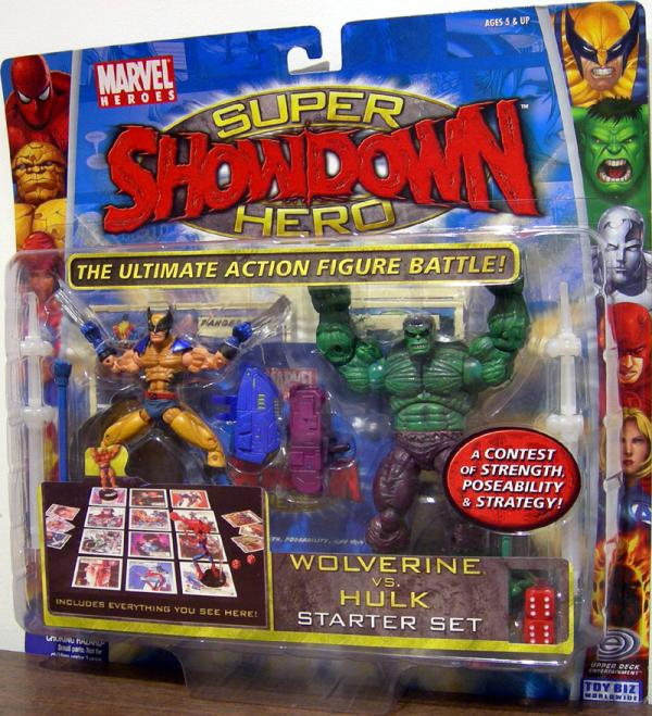 Wolverine vs Hulk Super Hero Showdown Action Figures