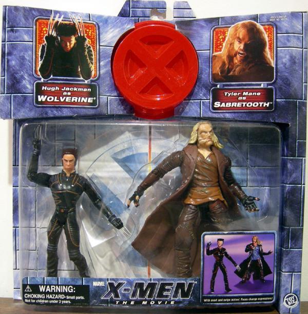 Wolverine vs Sabretooth X-Men Movie action figures
