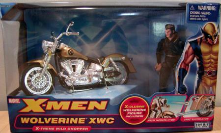 Wolverine XWC X-Treme Wild Chopper Vehicle X-Men