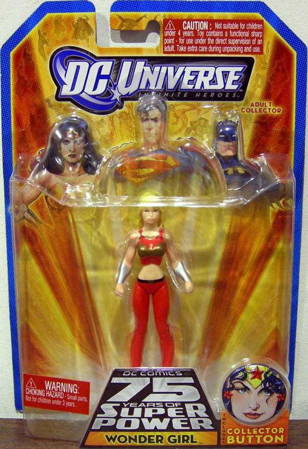 Wonder Girl Figure DC Universe Infinite Heroes 75 Years Super Power