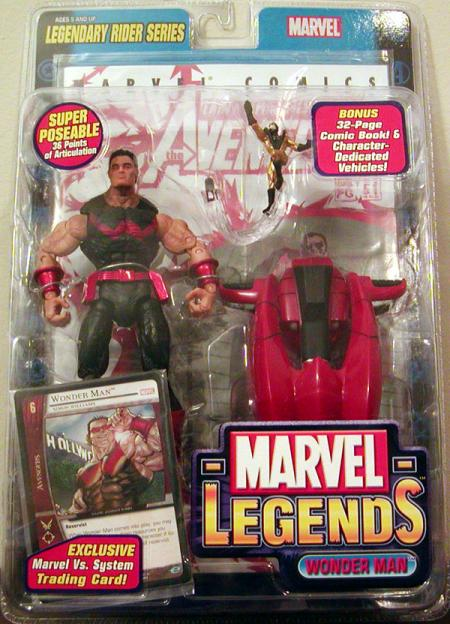Wonder Man Marvel Legends action figure