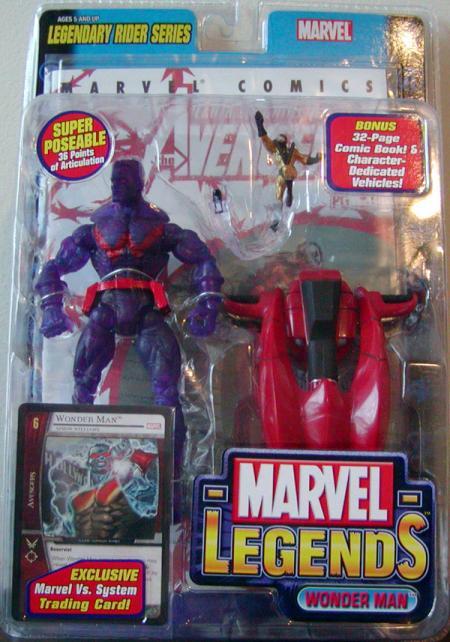 Wonder Man Marvel Legends Chase Variant action figure