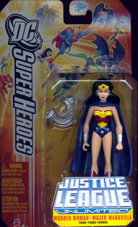 Wonder Woman DC SuperHeroes Justice League Unlimited action figure