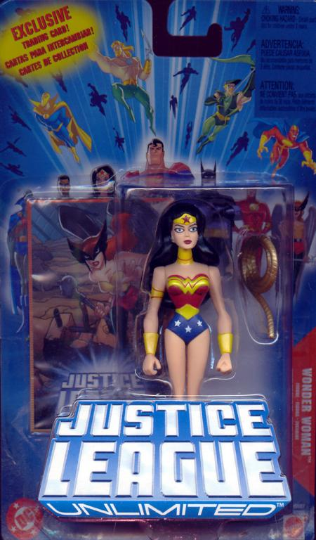 Wonder Woman Justice League Unlimited JLU action figure