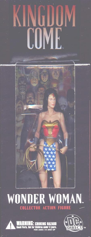 Wonder Woman Figure Kingdom Come DC Direct