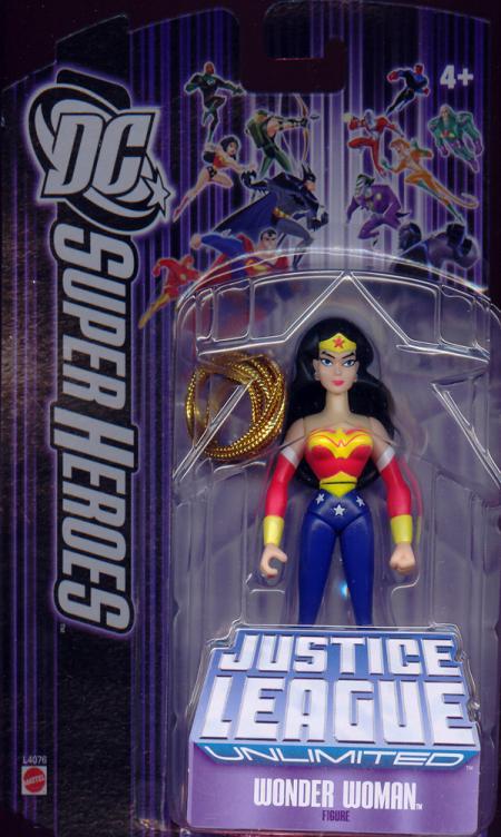 Wonder Woman DC SuperHeroes Justice League Unlimited action figure