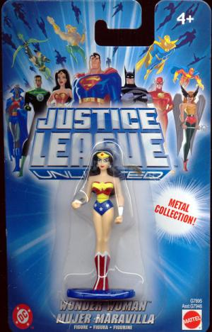 Wonder Woman Justice League Unlimited die-cast action figure