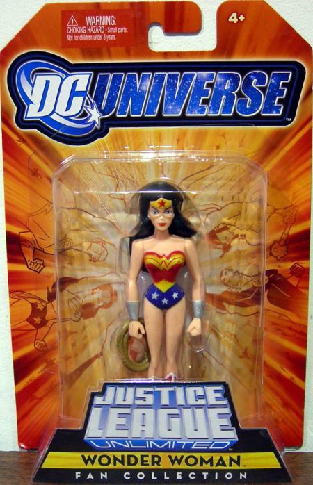 Wonder Woman Justice League Unlimited Fan Collection action figure
