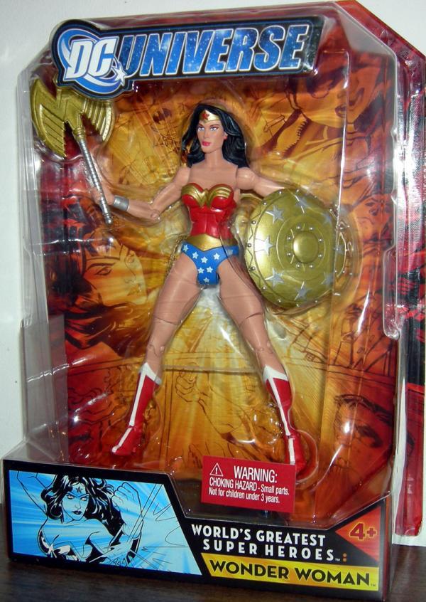 Wonder Woman DC Universe Worlds Greatest Super Heroes action figure