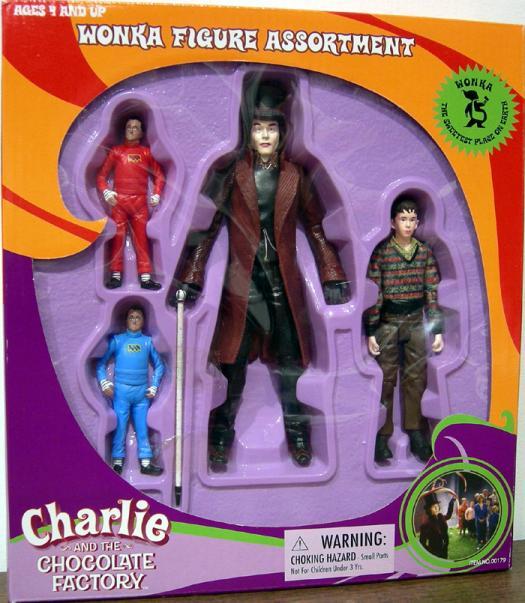 Wonka Figure Assortment Charlie Chocolate Factory action figures