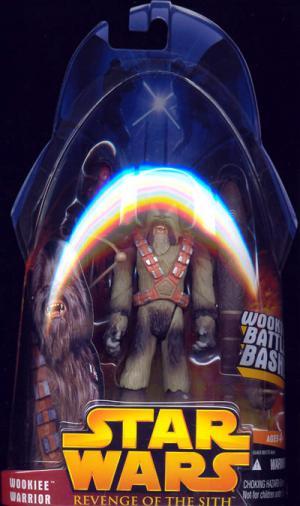 Wookiee Warrior Revenge Sith 43 Light Fur Star Wars action figure