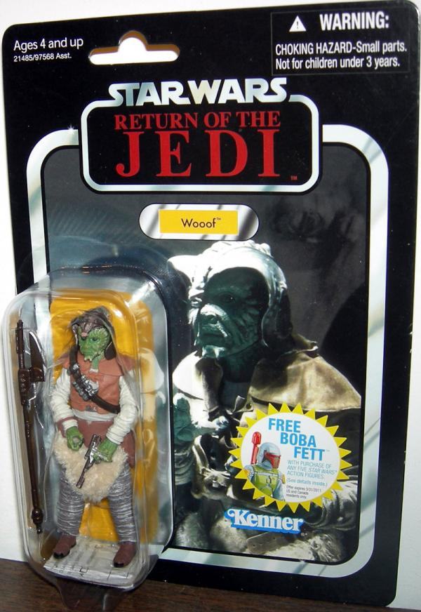 Wooof VC24 Star Wars Return Jedi action figure