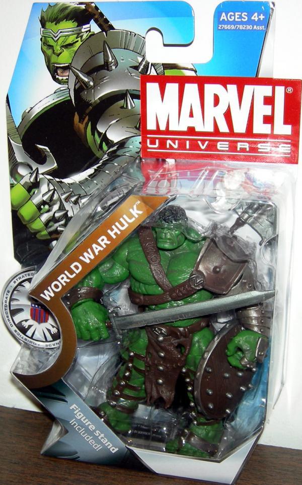World War Hulk Marvel Universe Series 3 003 action figure