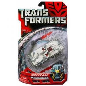 Wreckage Decepticon Movie Deluxe Transformers action figure