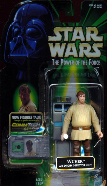 Wuher Droid Detector Unit Star Wars Power Force action figure