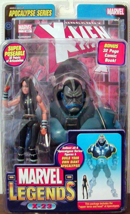 X-23 Marvel Legends Apocalypse Series action figure