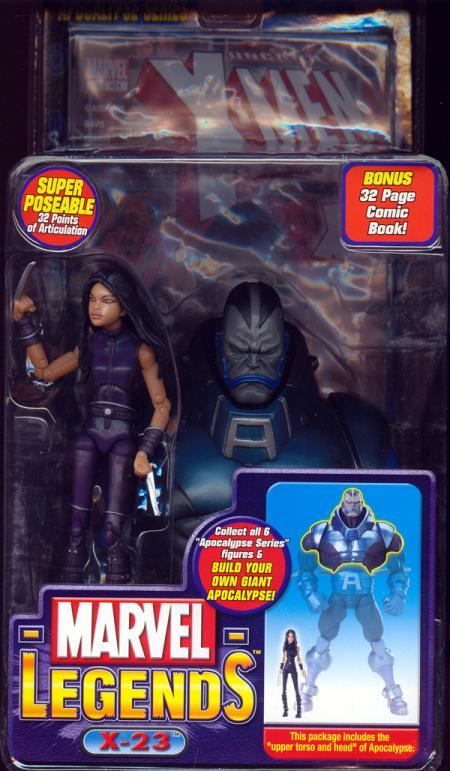 X-23 Marvel Legends Variant Apocalypse Series action figure