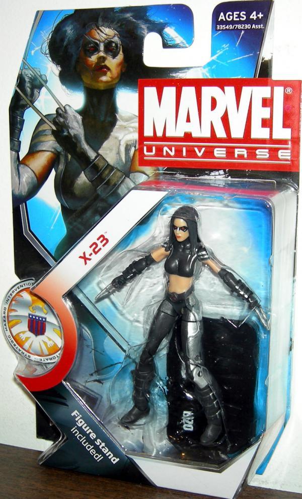 X-23 Figure Marvel Universe Series 3 020