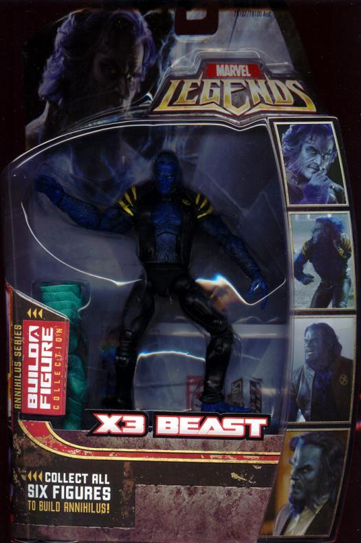 X3 Beast Figure Marvel Legends Annihilus Series Hasbro