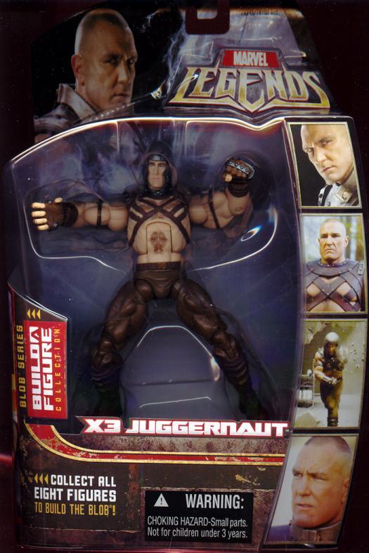 X3 Juggernaut Figure Marvel Legends Blob Series BAF