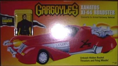 Xanatos XI-44 Roadster Gargoyles vehicle