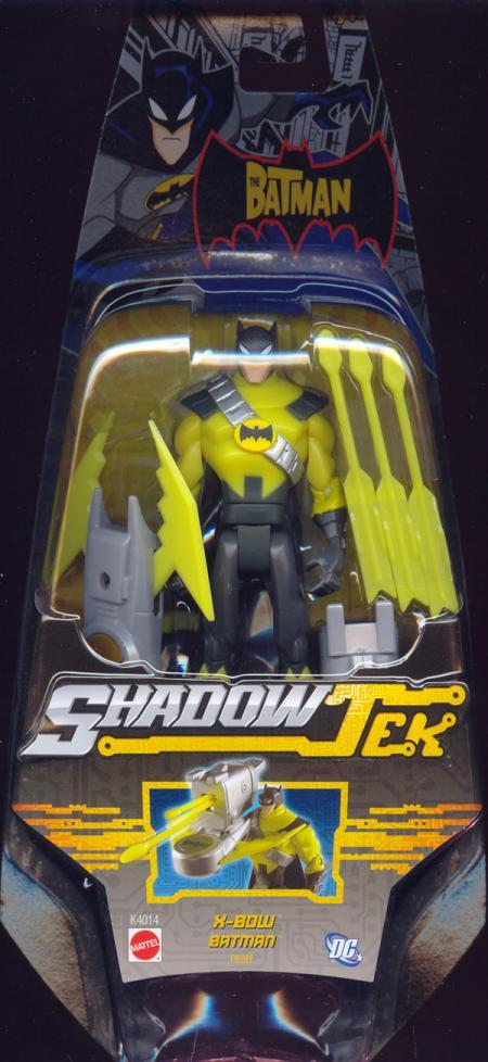 X-Bow Batman ShadowTek action figure