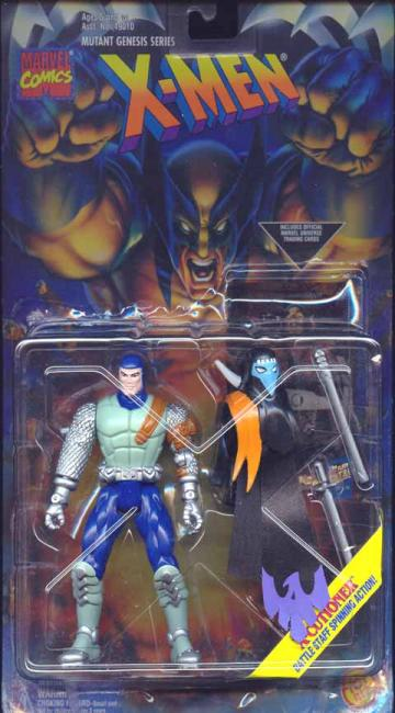 X-Cutioner Light Green X-Men Mutant Genesis Series action figure