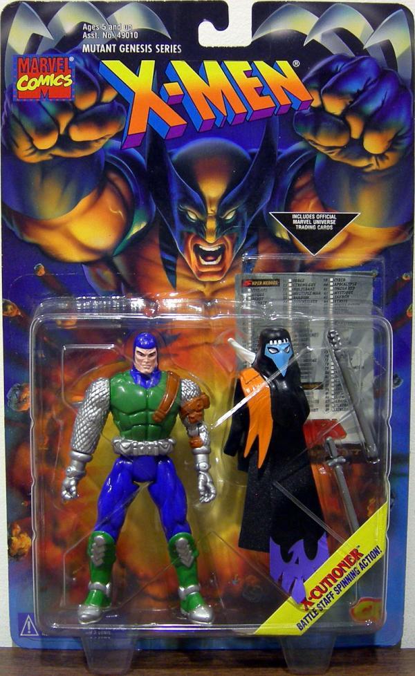 X-Cutioner X-Men Mutant Genesis Series action figure