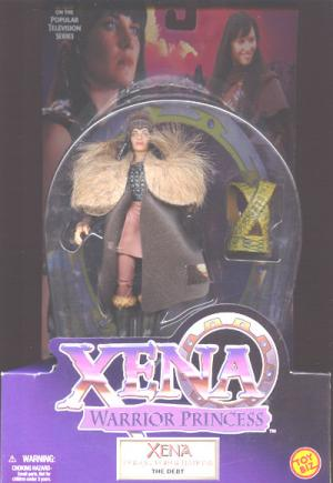 Xena Warrior Princess Conqueror Nations Debt action figure