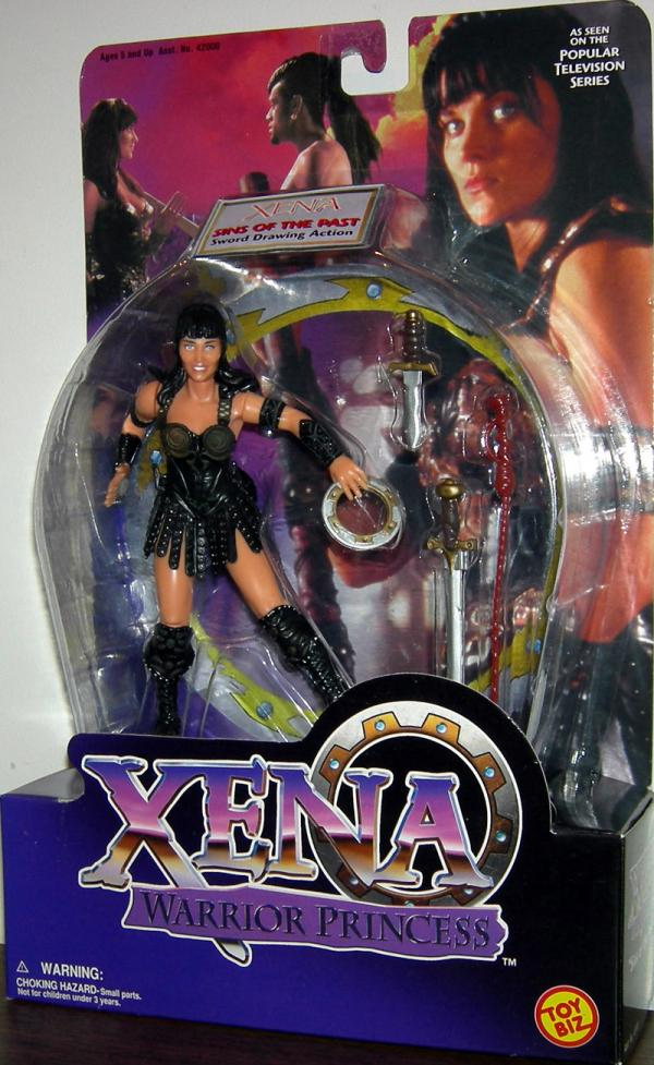 Xena Sins of the Past Action Figure Warrior Princess Toy Biz
