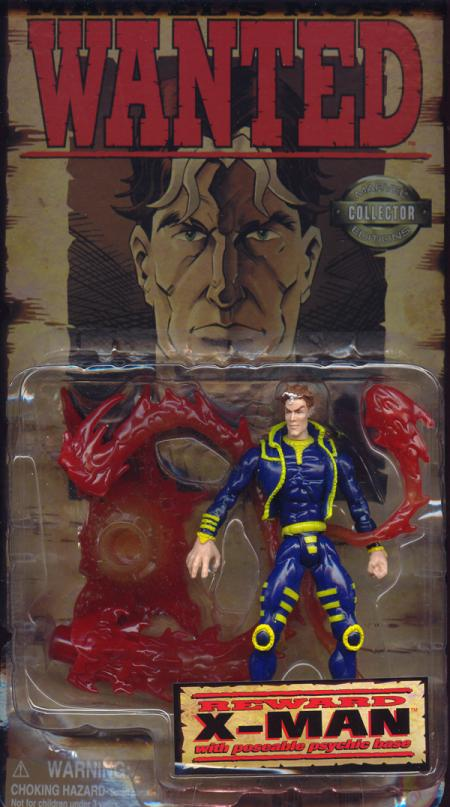 X-Man Marvels Most Wanted action figure