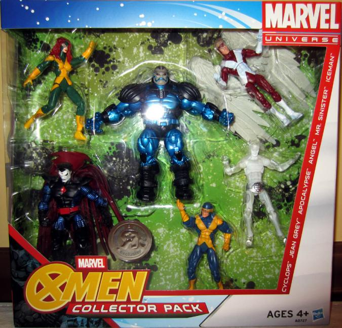 X-Men Collector Pack Marvel Universe action figures